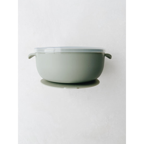 LION AND LAMB SAGE SILICONE BOWL