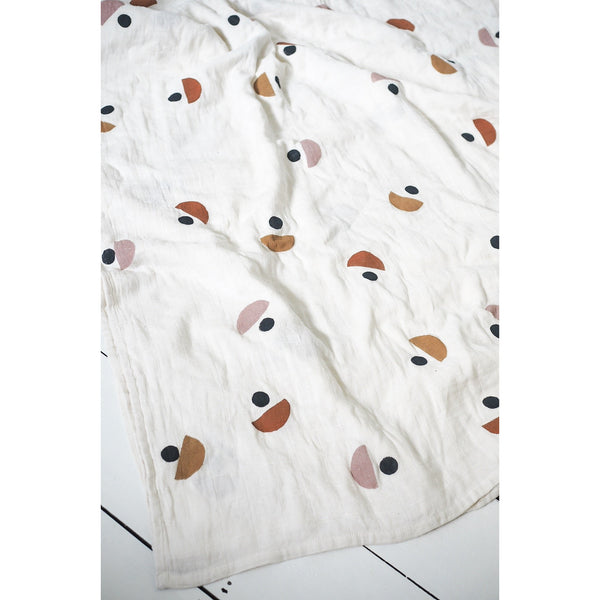 Little Beacon Moon Print Muslin