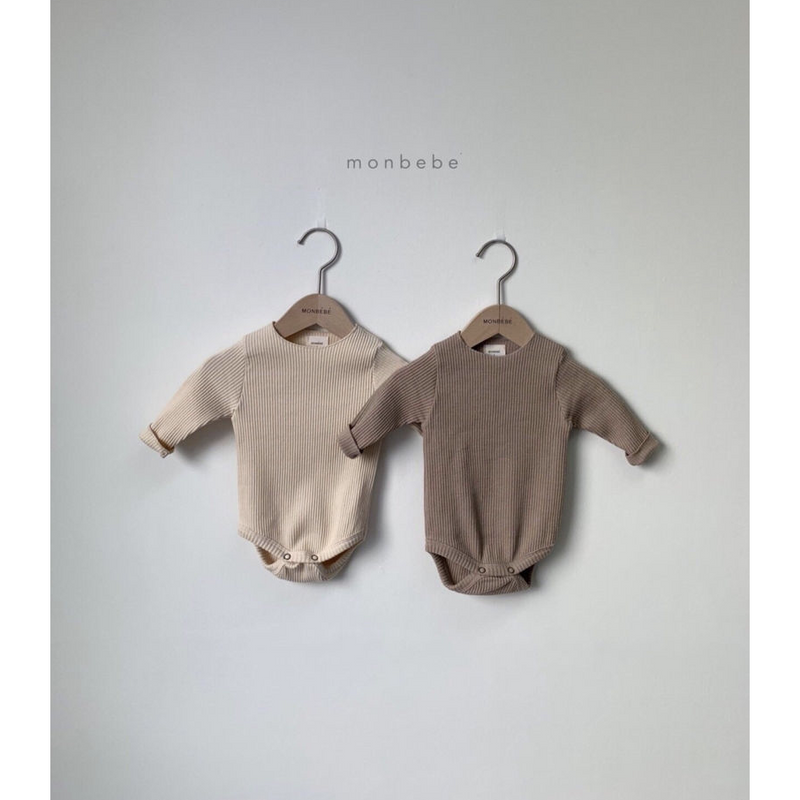 MONBEBE BASIC LIGHT + DARK ROMPER TWIN SET