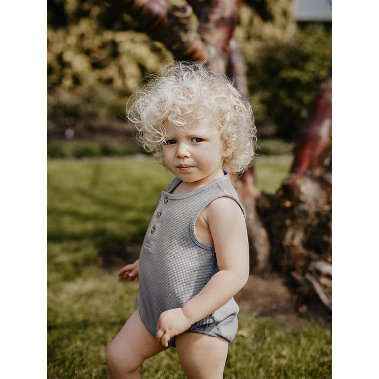 THE SIMPLE FOLK CAMEL SEEKER ROMPER