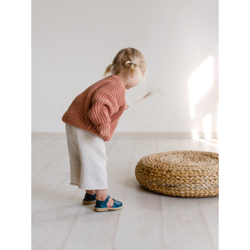 KIDS OF APRIL TERRACOTTA CHUNKY KNIT (PRE ORDER)