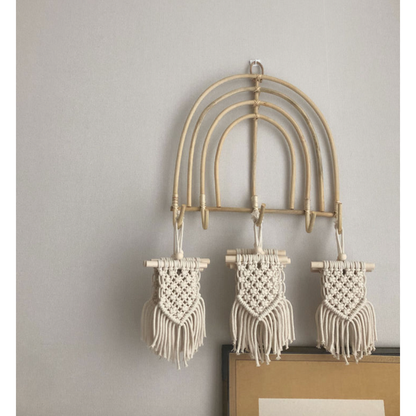 The Lala Small Macrame Wall Hanging