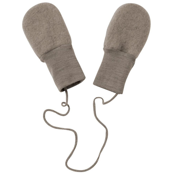 ENGEL NATUR WALNUT WOOL MITTENS
