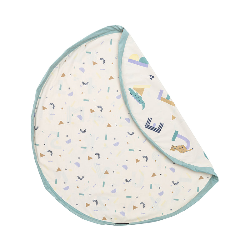 Play And Go Animal Alphabet Play Mat Storage Sack