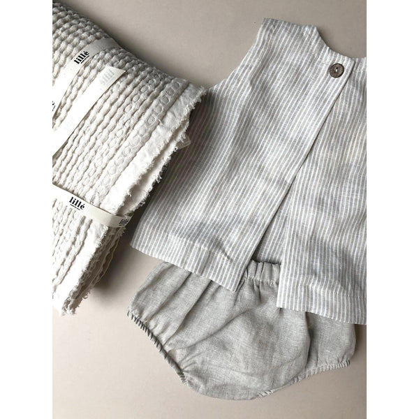 Lille Natural Linen Bloomers