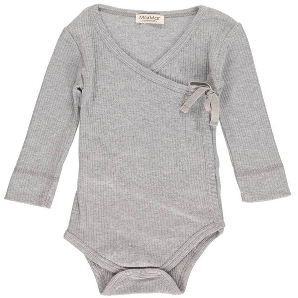 MARMAR COPENHAGEN GREY MELANGE BODY MINI LS BODY