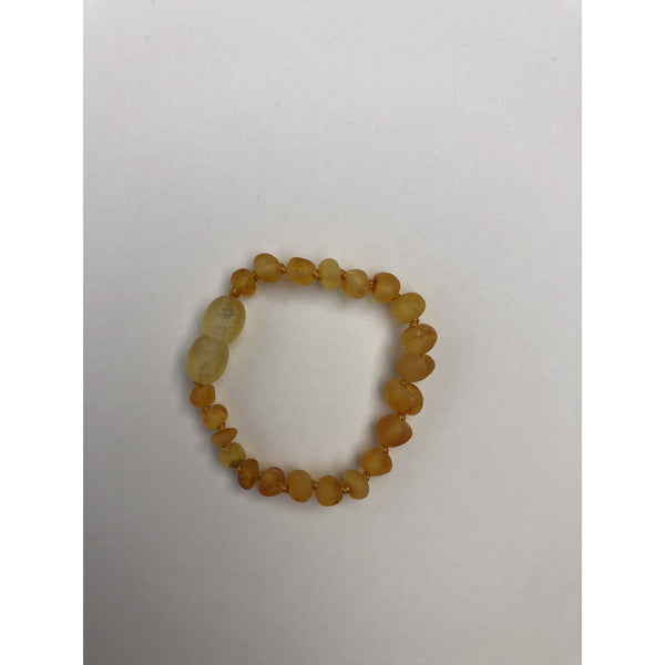 LILLE HONEY RAW AMBER BRACELET