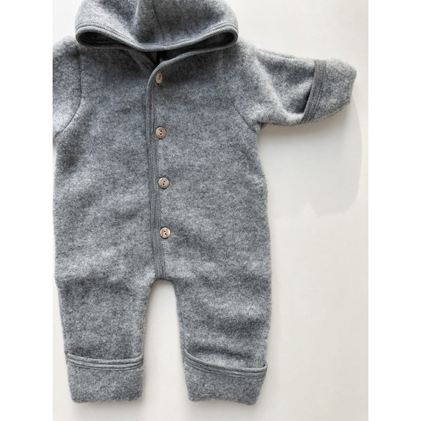 Engel Natur Grey Wool Overalls