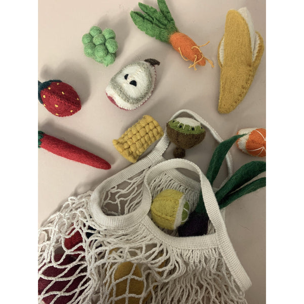 Papoose Felt Wool Mini Vegetable Set