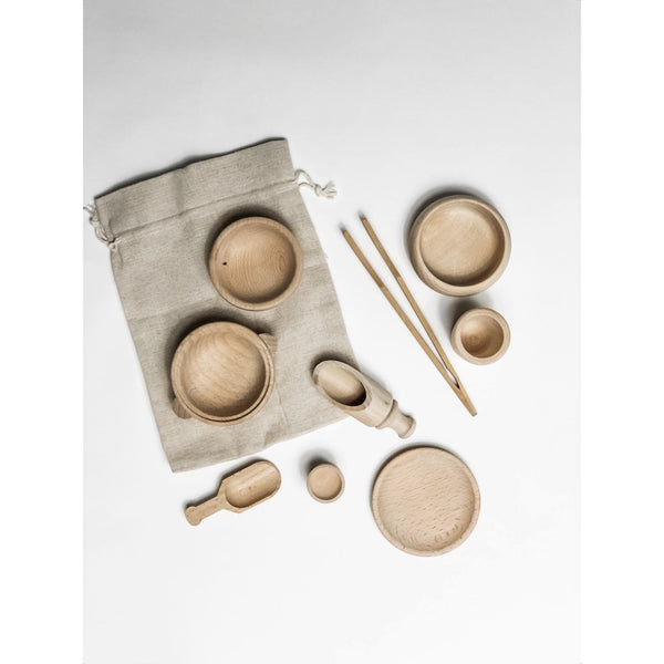 Wooden Sensory Creative Play Set