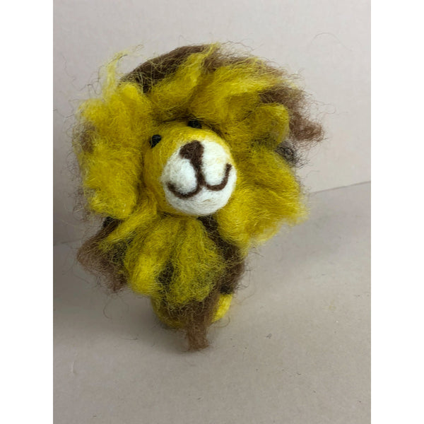 PAPOOSE FELT WOOL AFRICAN FINGER PUPPETS