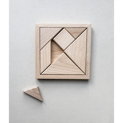 Natural Wooden Puzzle