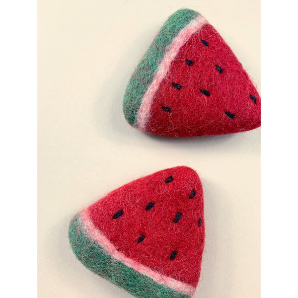 Papoose Felt Wool Watermelon Slices