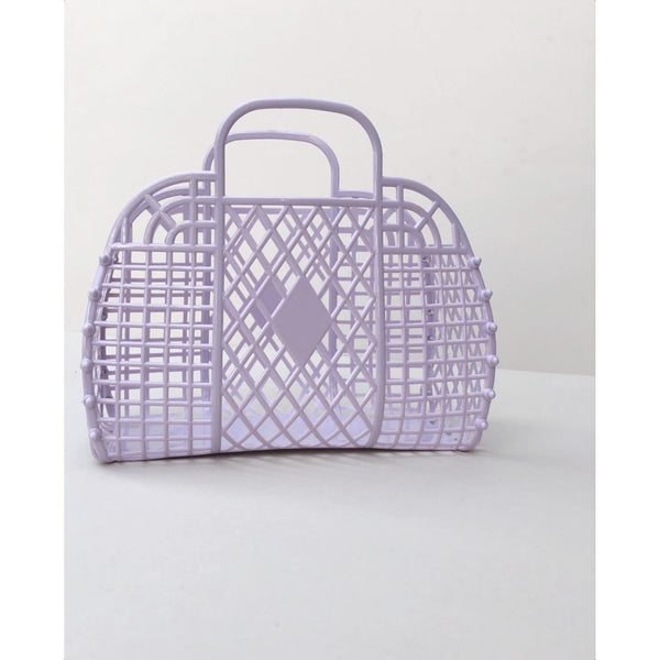 Recycled Lilac Jelly Basket