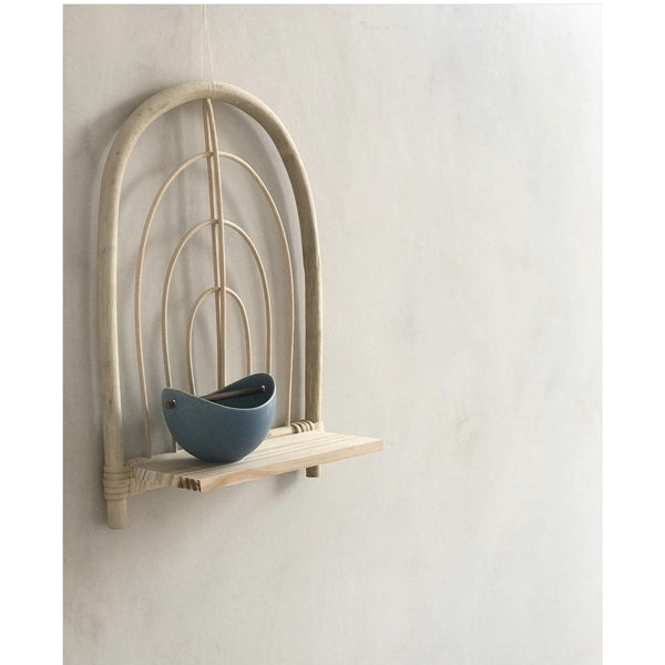 ILA Y ELA RATTAN MINI SHELF