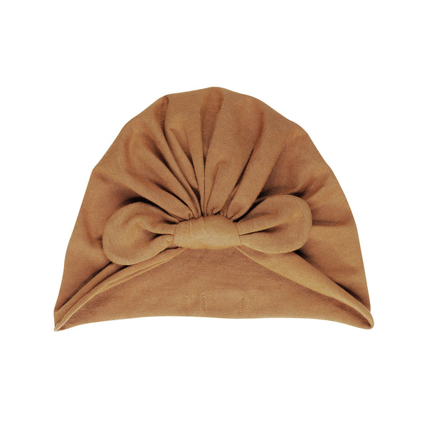 BONJOUR LITTLE NUT BOW TURBAN
