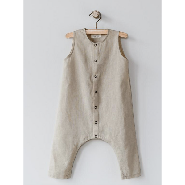 THE SIMPLE FOLK OATMEAL FOREST ROMPER