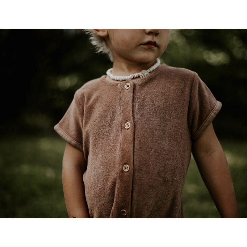 The Simple Folk Walnut Daily Romper