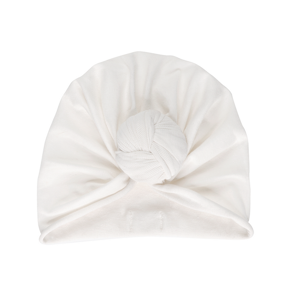 Bonjour Little Whipped Cream Knotted Turban