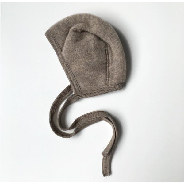 ENGEL NATUR WALNUT WOOL BONNET