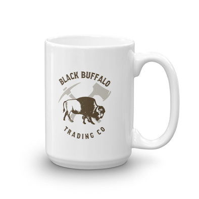 Black Buffalo Old Faithful  Logo Mug
