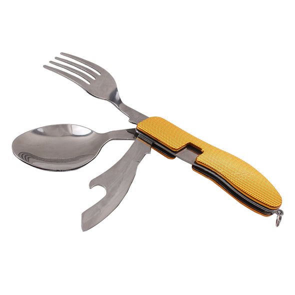 4 in 1 Folding Cutlery Multi-Functional Tool