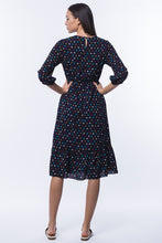 Load image into Gallery viewer, Bailey Floral Midi Dress - Navy