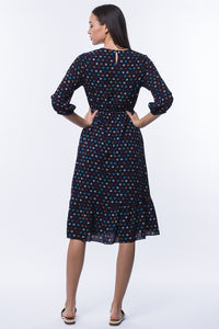 Bailey Dress - Navy