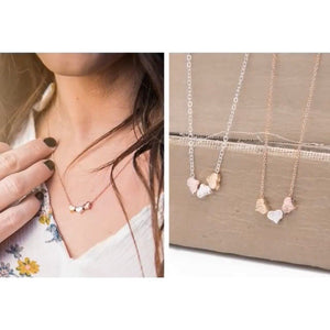 Delicate Heart Necklace (2 colors)