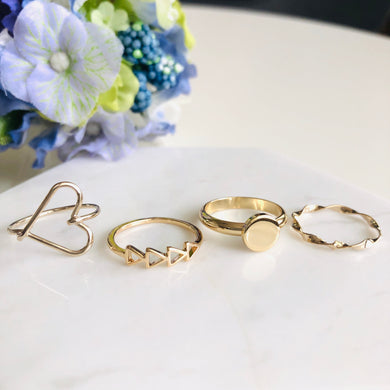 Gold Stacking Ring (9 styles)