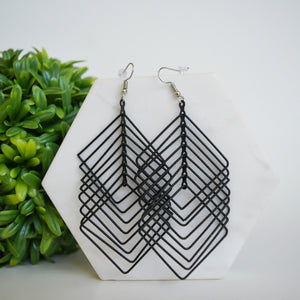 Ginny Earrings - Square
