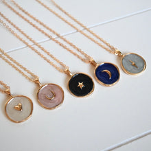 Load image into Gallery viewer, Chiara Charm Necklace - Moon