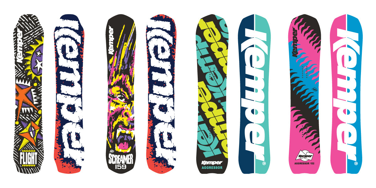 Kemper Snowboards All Mountain Snowboards