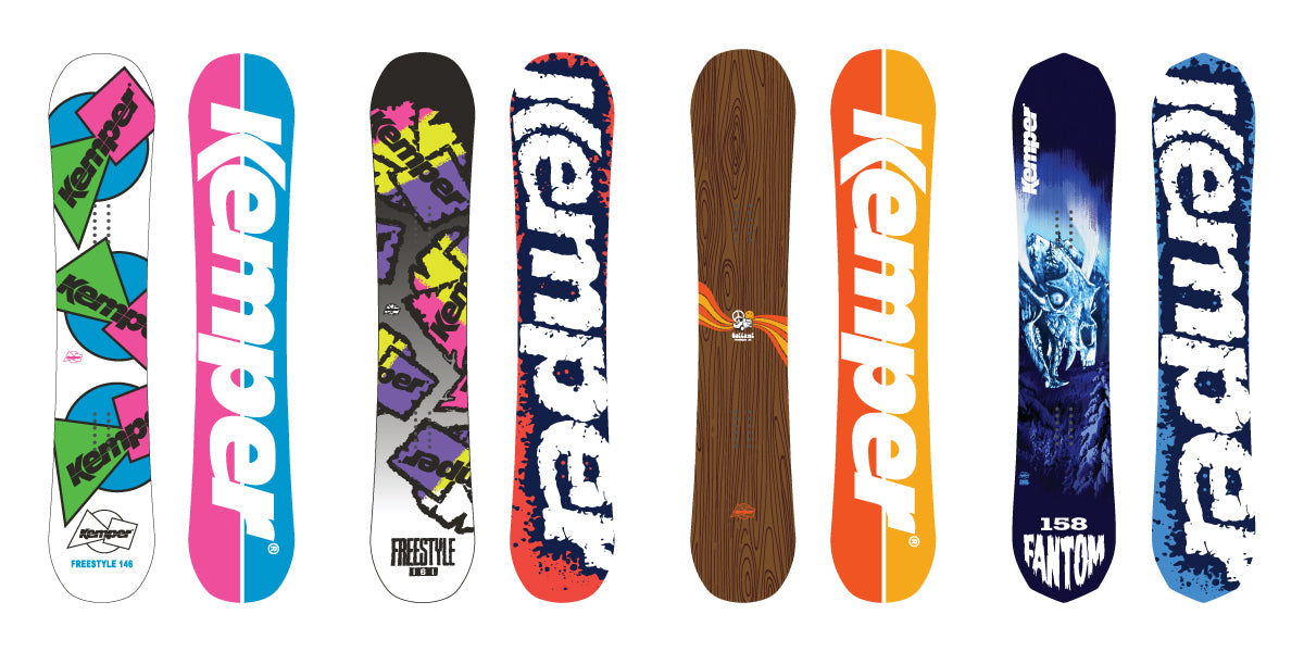Kemper Snowboards All Mountain Freestyle Snowboards