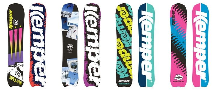 Snowboard buyers guide kemper snowboards powder snowboards