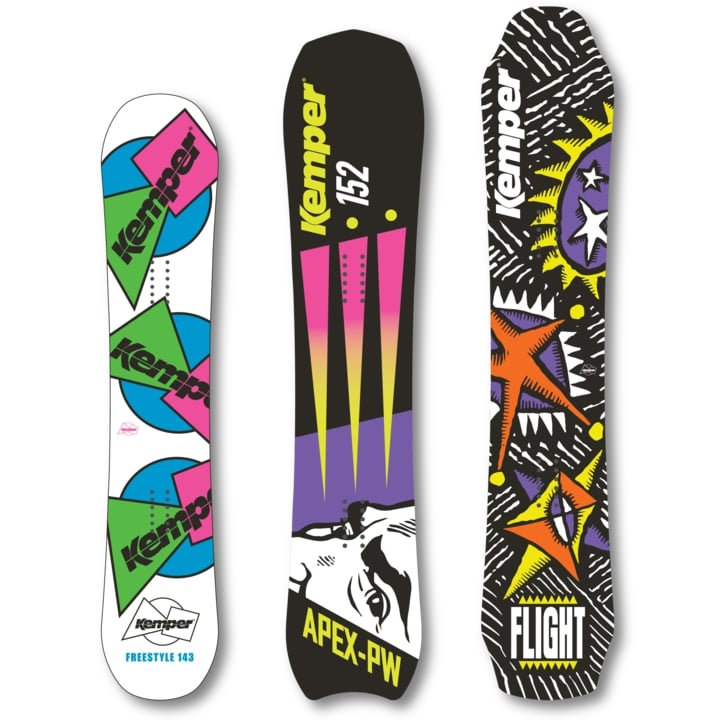 kemper snowboards freestyle apex flight
