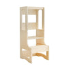 Evo Adjustable Learning Tower | Varnished Birch