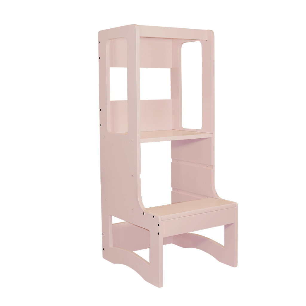 Evo Adjustable Learning Tower | Blush