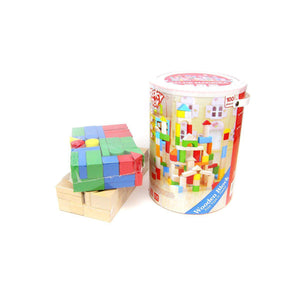 100PCS Wooden Block