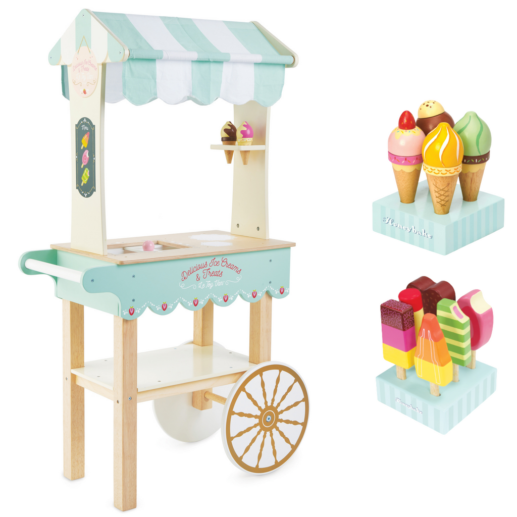 Bundle | Honeybake Ice Cream and Treats Trolley | Ice Cream | Ice Pops