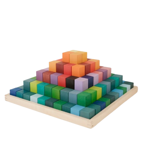 Large Stepped Block Set