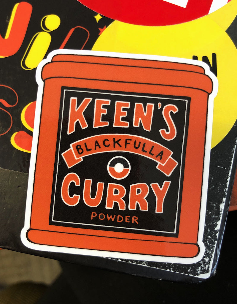 Curry stickers