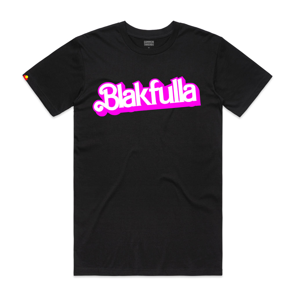 black barbie tee