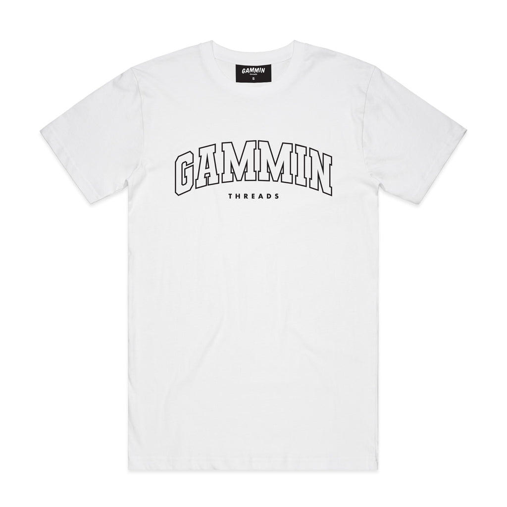 GS College tee white
