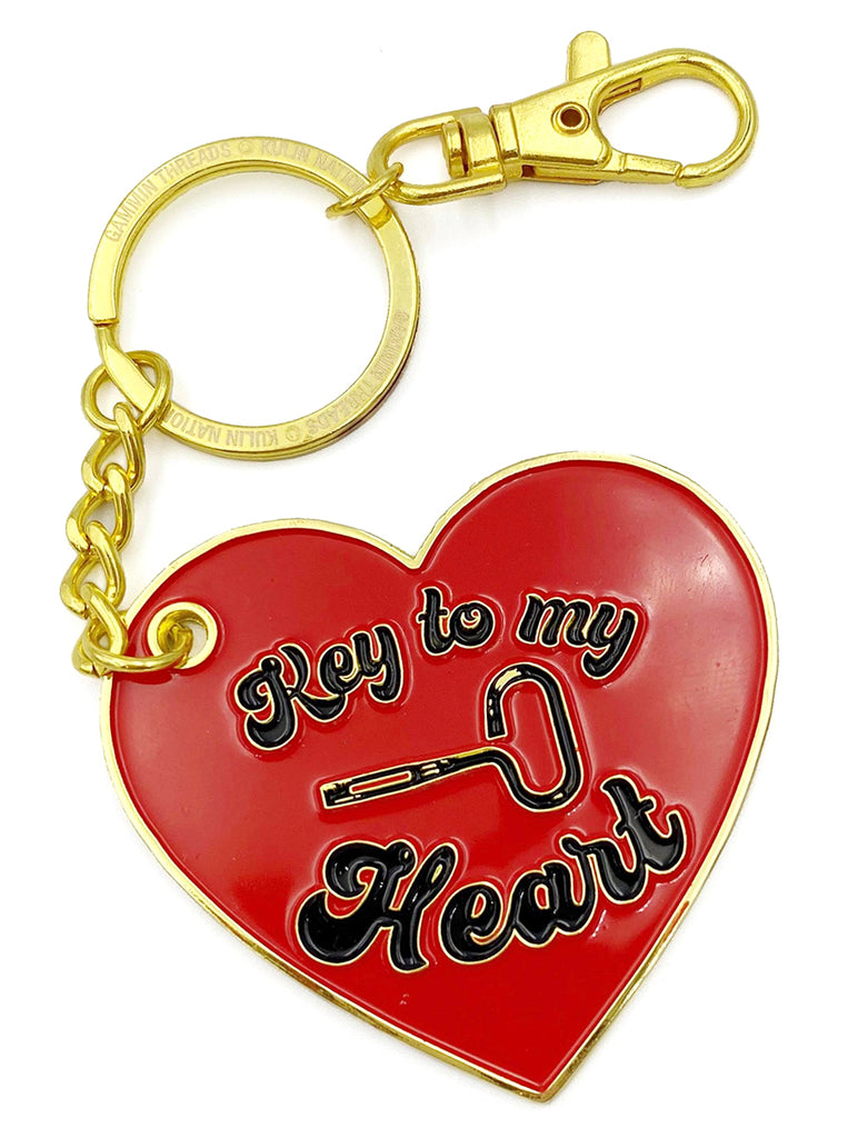 Key to my Heart key chain
