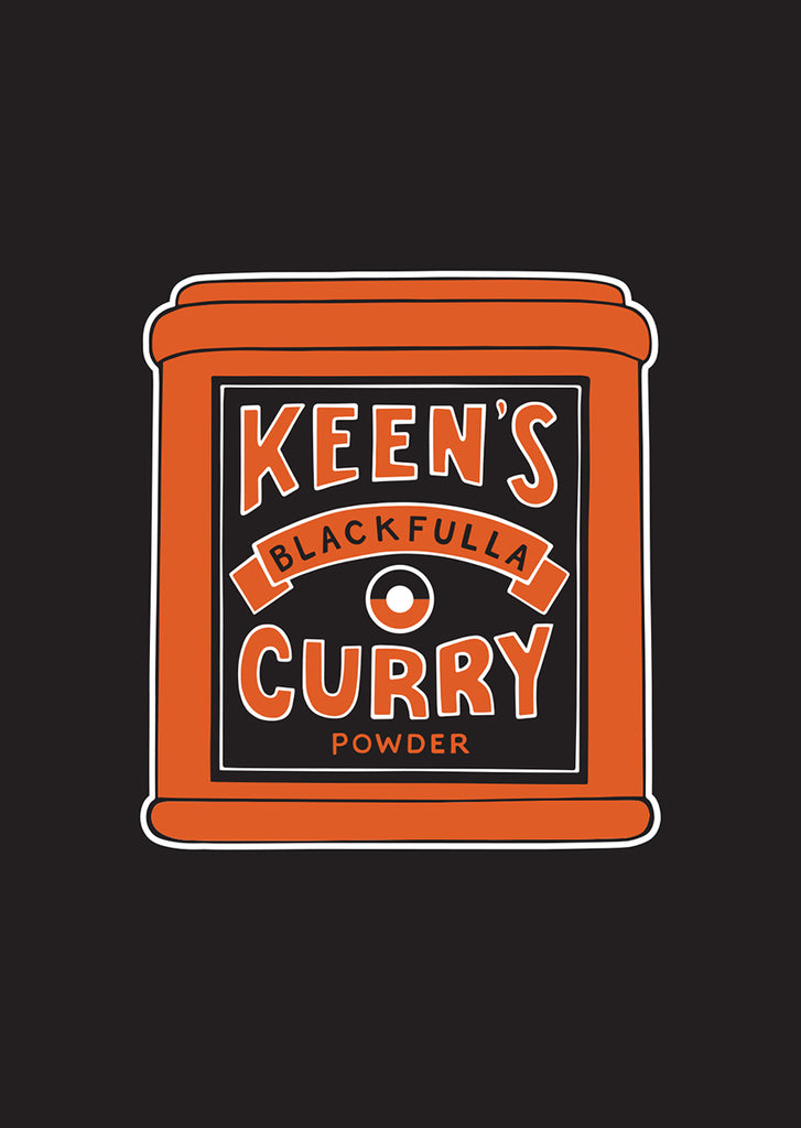 Keens curry print