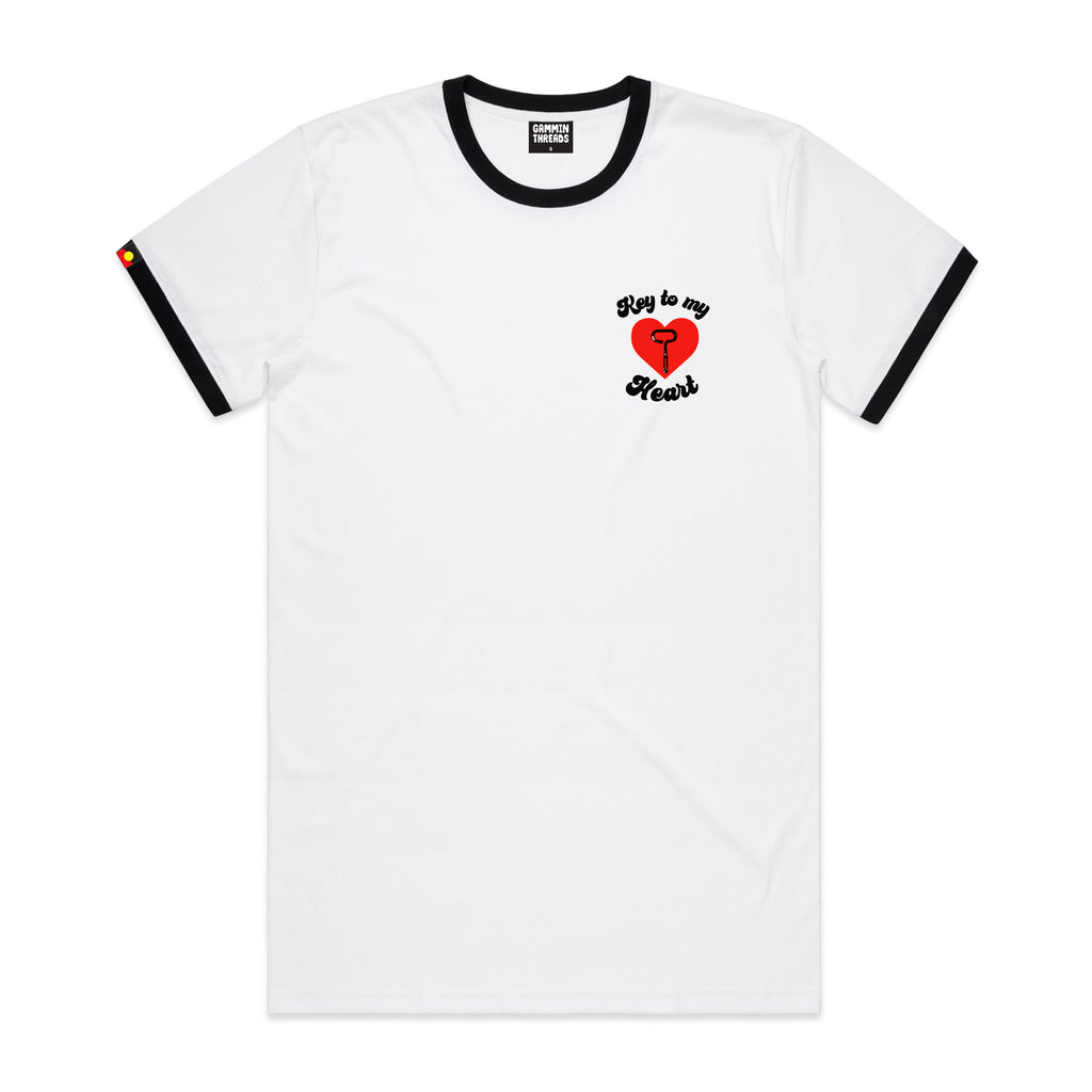 Key to my heart tee
