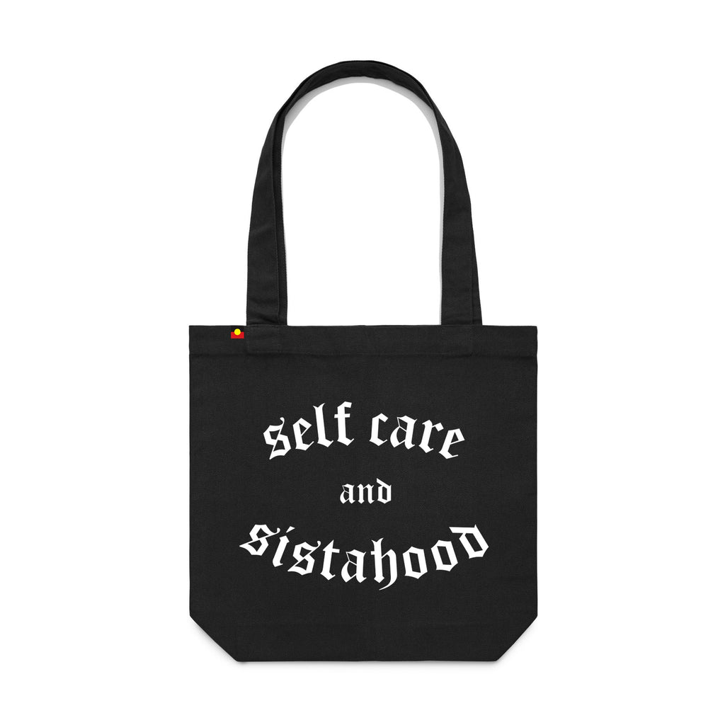 Self care and sistahood tote