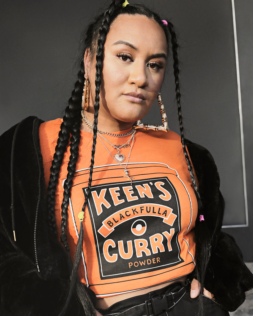 Keens curry tee