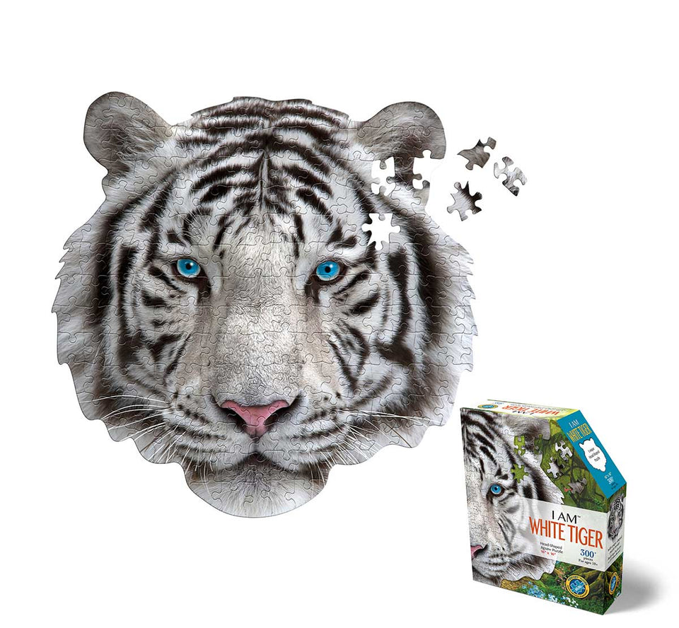 I am White Tiger 300 Piece Puzzle